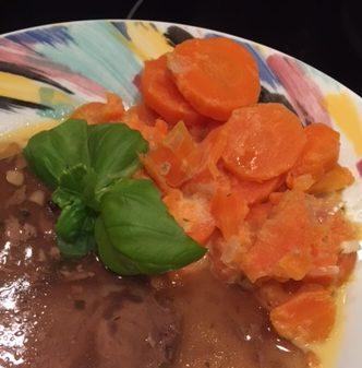 Karottengemüse süßlich lecker