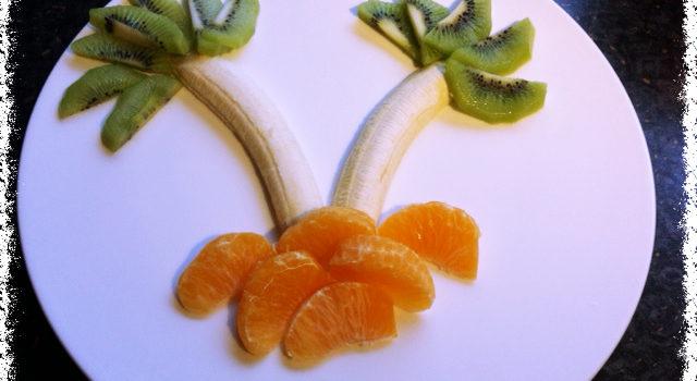 Palmen-Obstsalat
